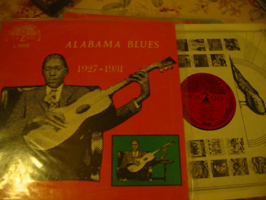 VARIOUS ARTISTS - ALABAMA BLUES - YAZOO 1006